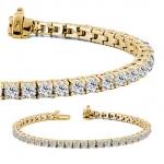 Bracelets with diamonds